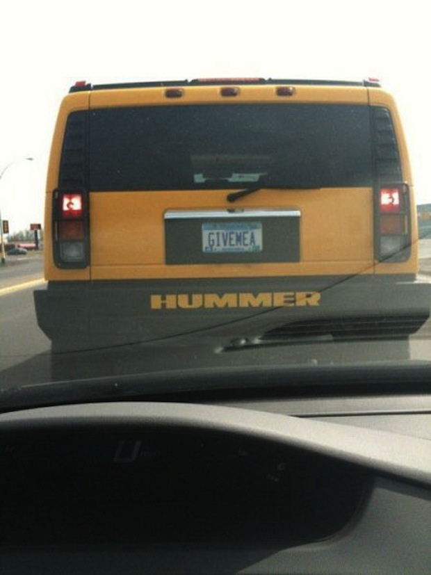 Funny and Banned License Plates | YouBentMyWookie
