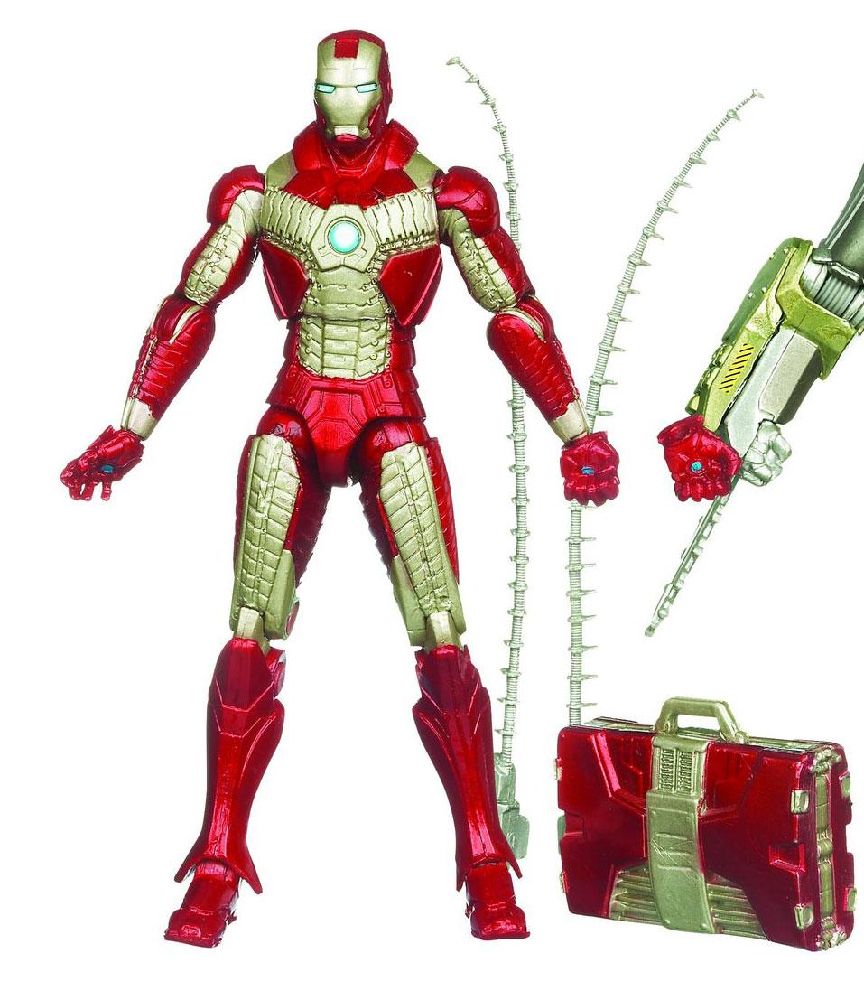 Hasbro's 2011 Iron Man Armored Avenger Lineup Revealed ...