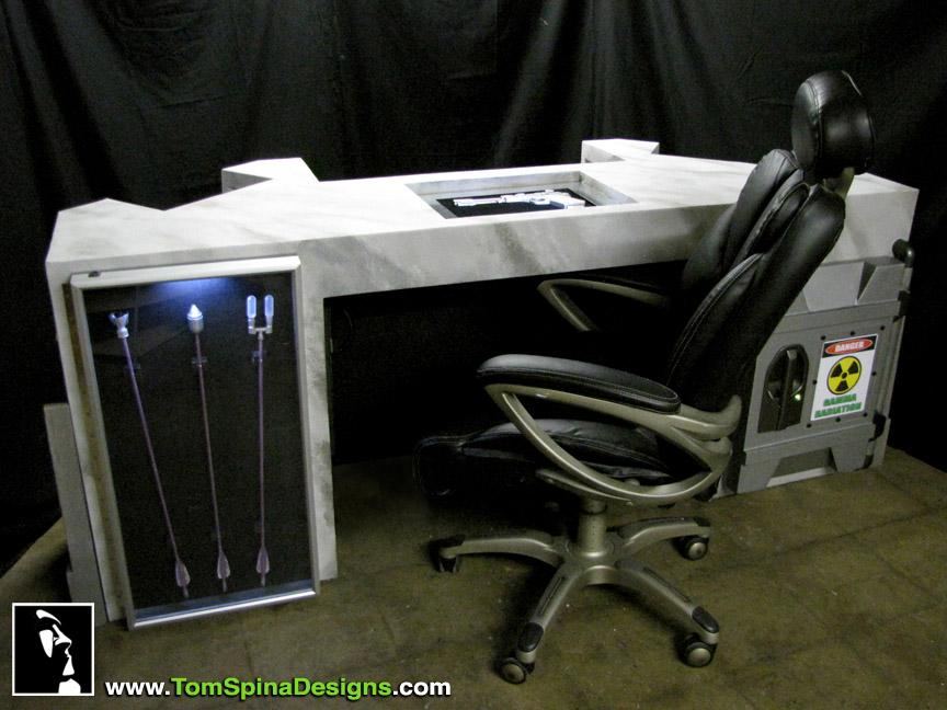 Tom Spina Designs Awesome The Avengers Themed Desk