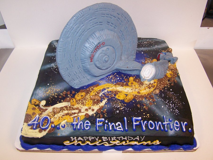 Epic Star Trek Cake Is Epic Where No Cake Has Gone Before