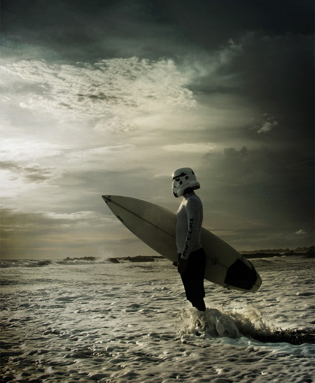 The Further Adventures Of The Surfing Stormtrooper