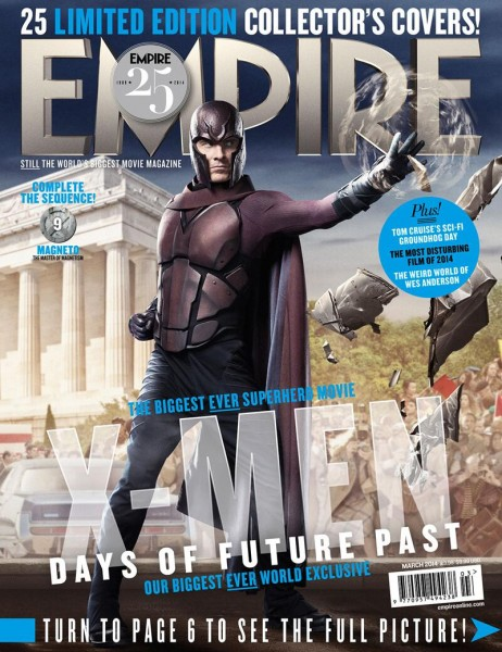 xmen days of future past empire covers featuring beast