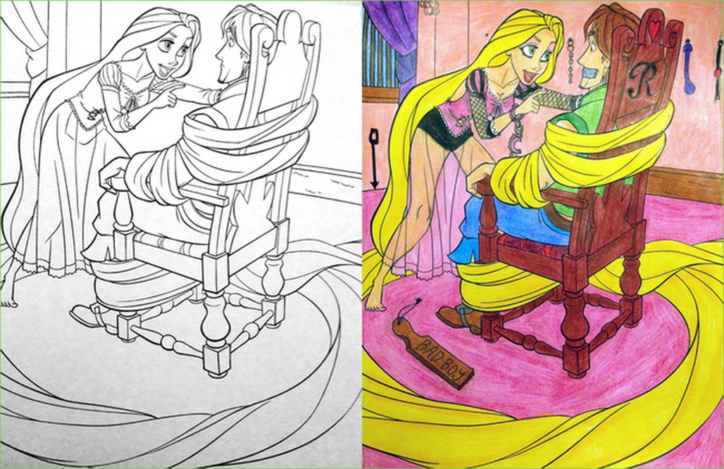 Coloring Book Makeover 13