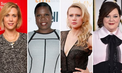 What's Hot: GHOSTBUSTERS All Female Cast Announced