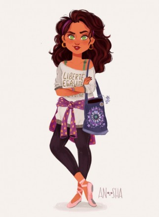 Anoosha-Syed-Disney-Princesses-As-Modern-Day-Girls-Esmeralda-the-Ballet-Dancer-686x938.jpg