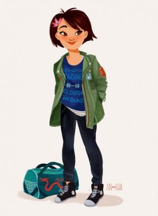 Anoosha-Syed-Disney-Princesses-As-Modern-Day-Girls-Mulan-the-Cadet-686x938.jpg