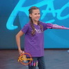 Girl Pitches Glitter Shooting, Prosthetic Unicorn Horn Arm on Rachael Ray