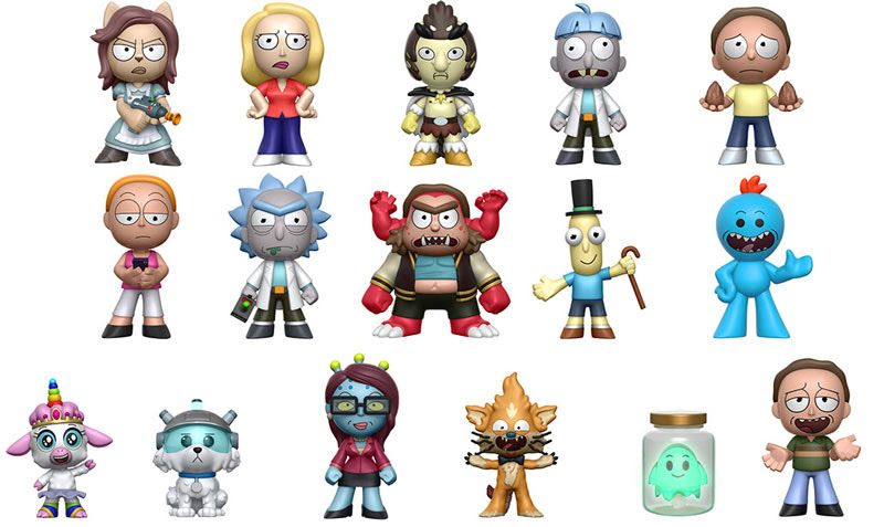 Funko S Rick And Morty Action Figures And Mystery Minis