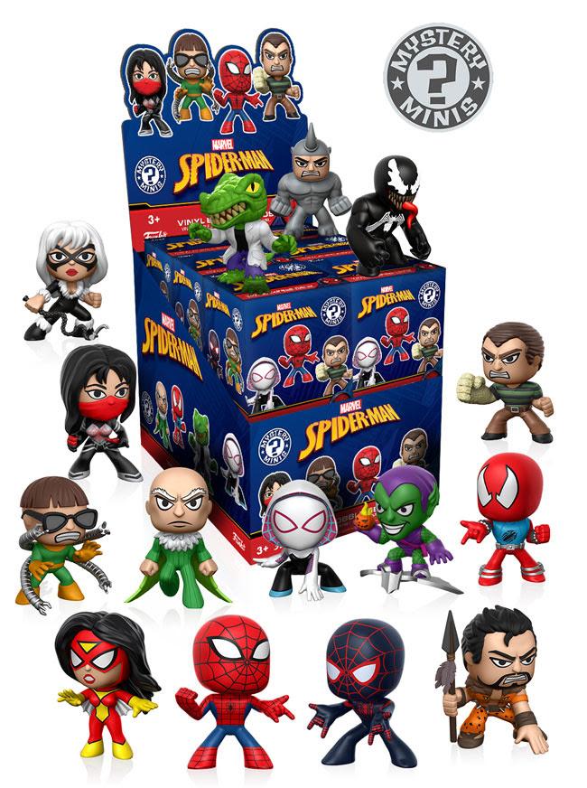 Funko Mystery Minis Classic Spider Man Youbentmywookie
