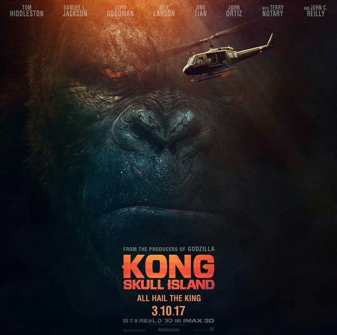 New TV Spot Released For Kong: Skull Island