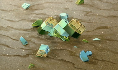 What's Hot: Nicole Gustaffson's Beautiful LEGO Inspired Art