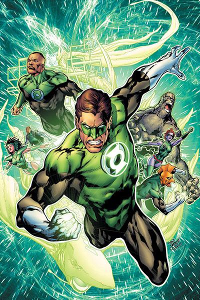 Green Lantern Corps Power of Lantern
