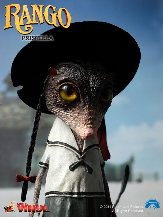 Hot Toys Rango Amp Priscilla Vinyl Collectible Figures Set