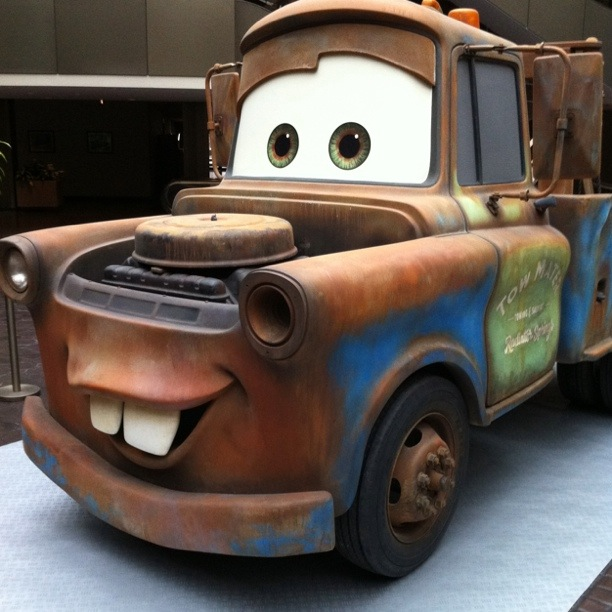Life-Size Disney-Pixar 'Cars 2′ Character Replicas