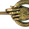 Dark Horse: Collectible 'Game Of Thrones' Hand Of The King Metal Pin