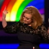 Adele Gets Cut Off At Beginning of Acceptance Speech - Responds With Her Middle Finger