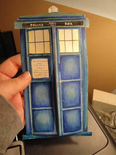geeky doctor who themed tardis valentine s day card youbentmywookie