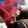 Spider-Man Kissing Prank