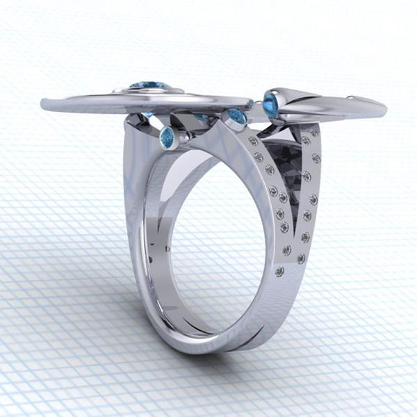 star trek engagement ring 2jpg - Star Trek Wedding Ring