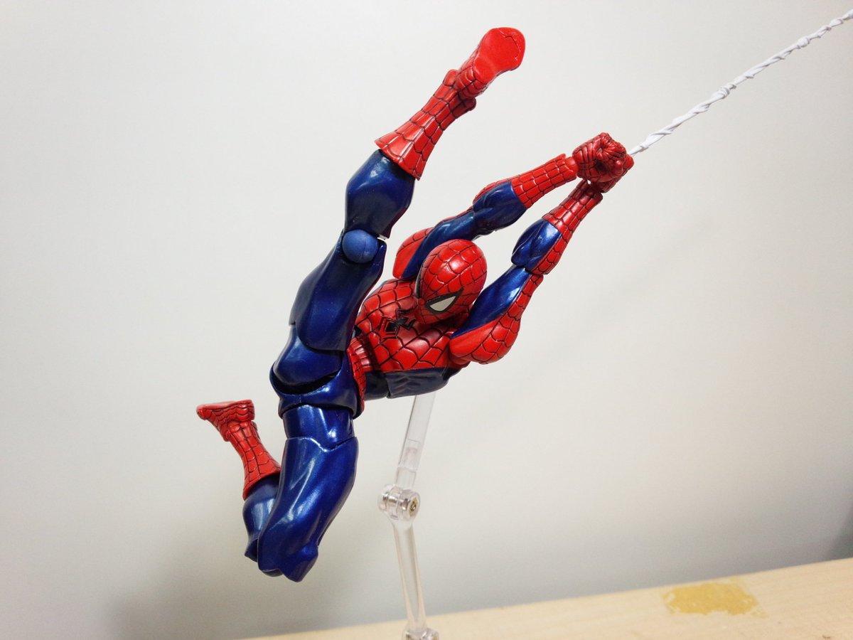 kaiyodo  amazing yamaguchi revoltech spider