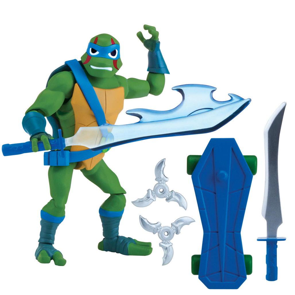 First Teenage Mutant Ninja Turtles Toys : Playmates reveals rise of the teenage mutant ninja turtles