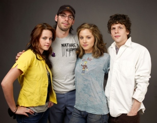 Adventureland, Martin Starr, Kristen Stewart, Jesse Eisenberg