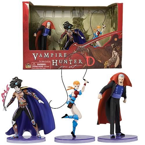 Win Dark Horse's Vampire Hunter D PVC Collection