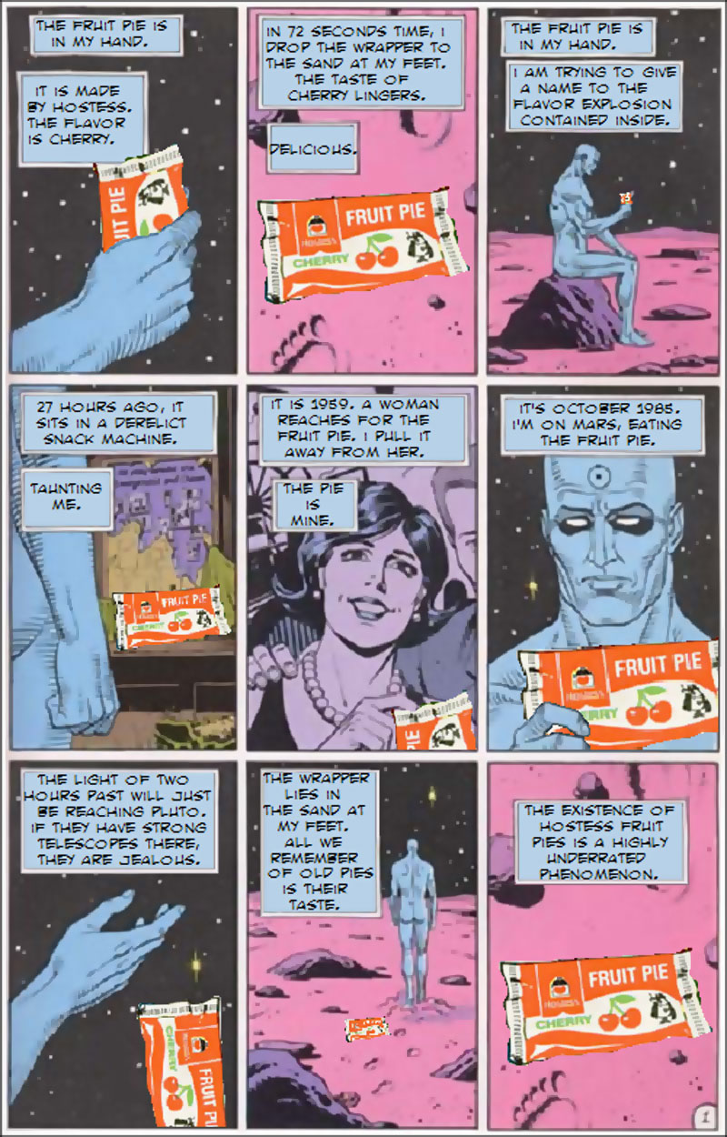 watchmen hostess ad spoof Decorations (Page #1 of 2)