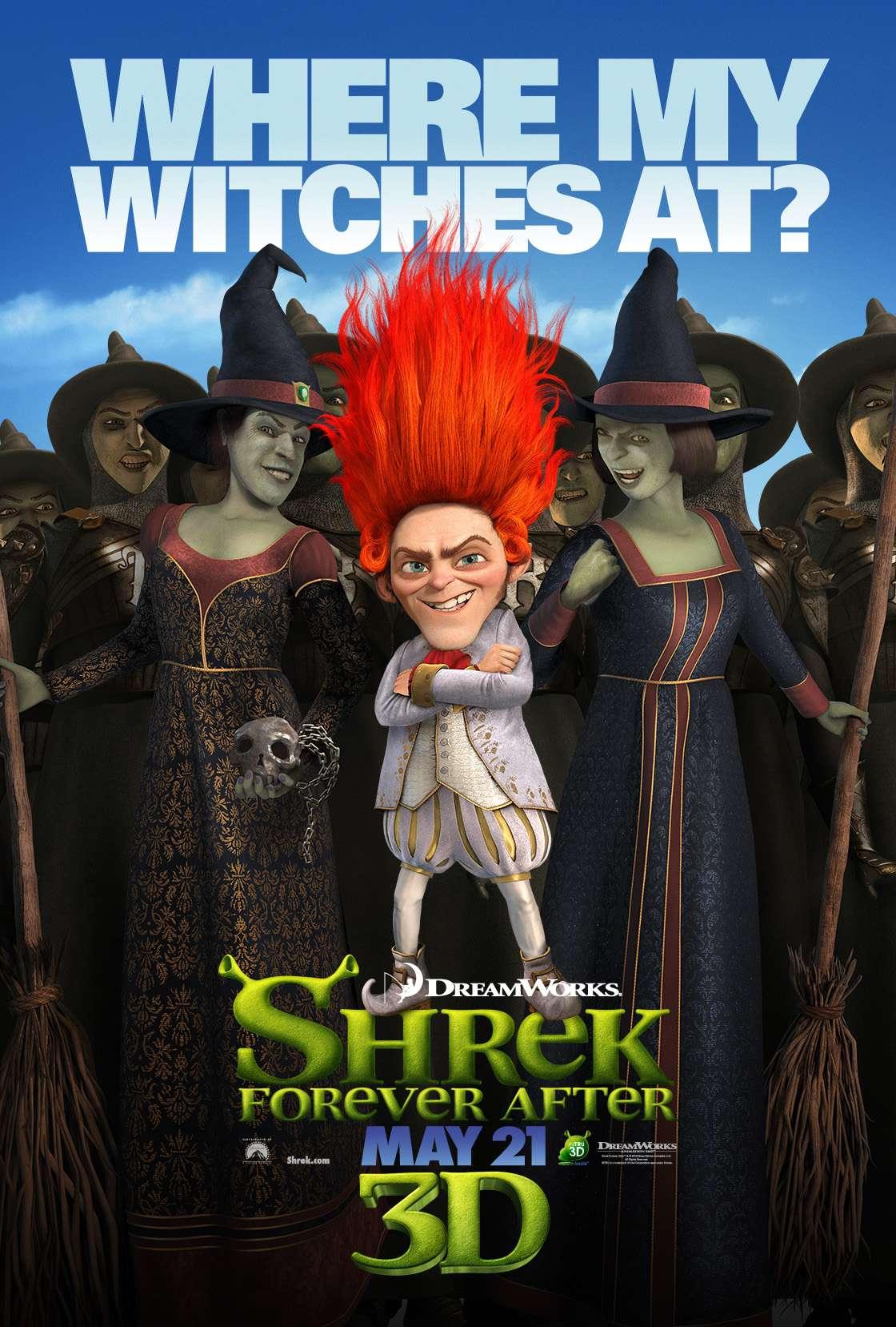 Dreamworks Reveals Six New 'Shrek Forever' Character ...