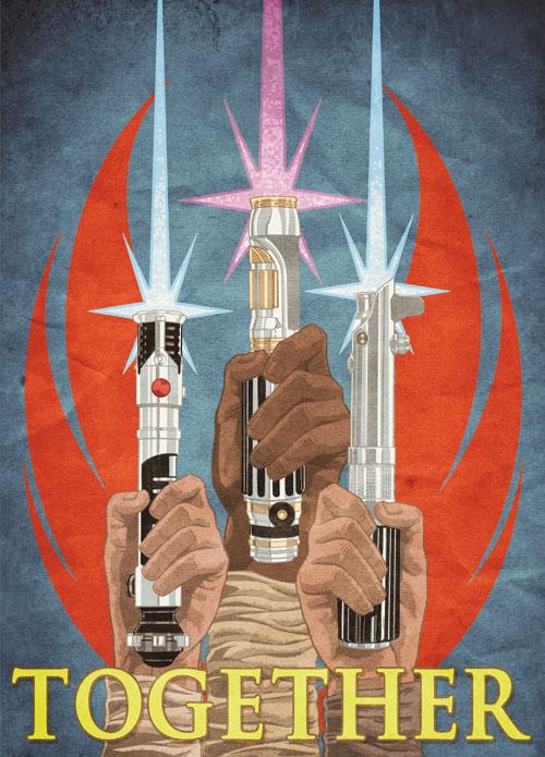 Joe Corroney S Star Wars Propaganda Pop Art Ybmw