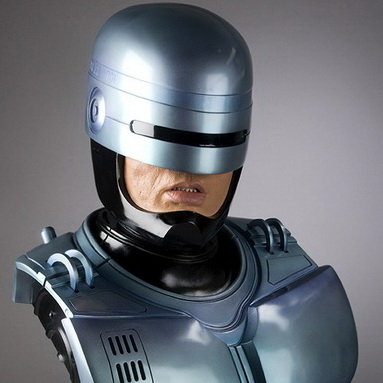 Own A Bust Of The Detroit Robocop Statue