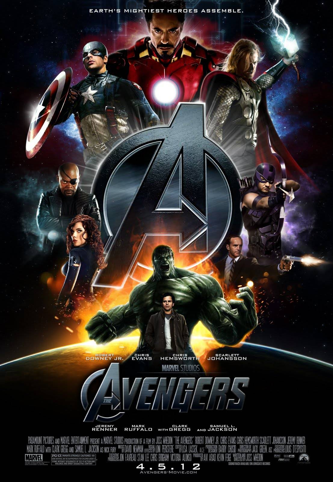 epic fanmade �the avengers� movie poster youbentmywookie