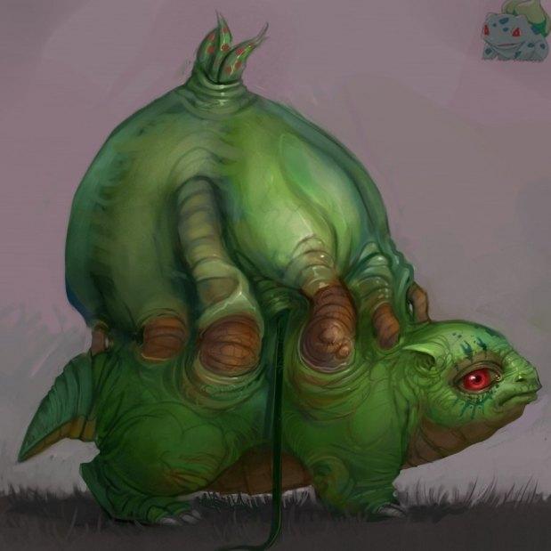 Super Realistic Pokemon Paintings - YBMW