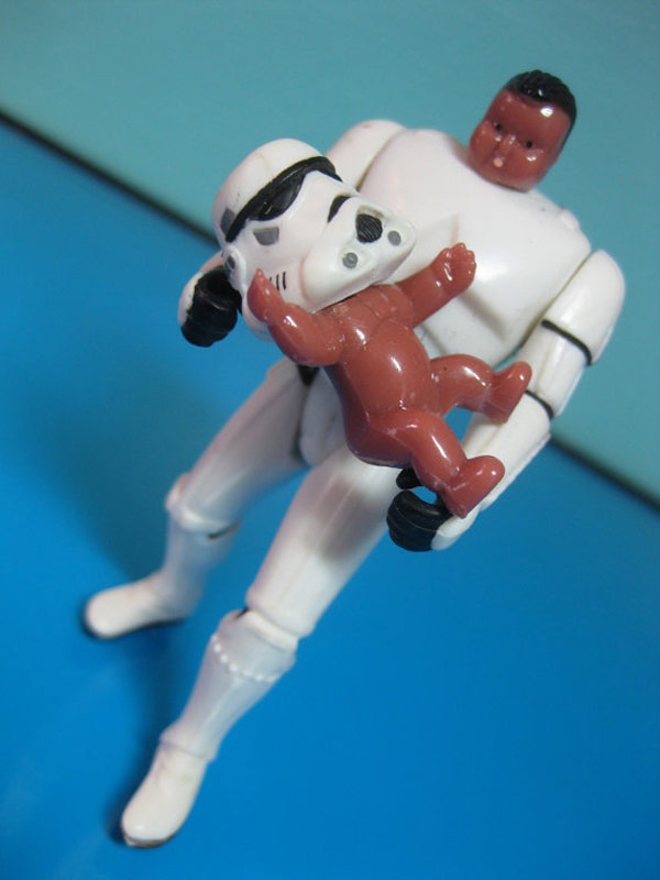 Super Creepy Star Wars Toys Customized With Baby Parts Ybmw