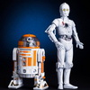 Star Wars Celebration Exclusive Kotobukiya R3-A2 and K-3PO ARTFX Statues