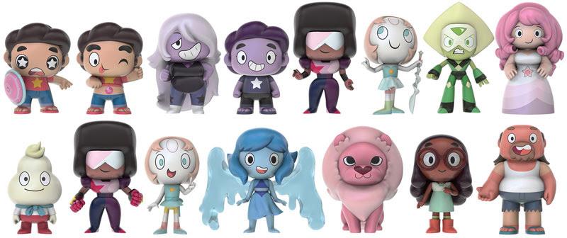 Funko Unveils Steven Universe Mystery Minis Youbentmywookie