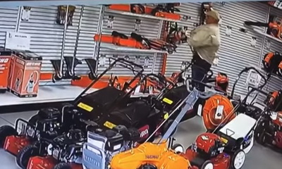 What's Hot: Man Shoplifts Chainsaw… In His Pants