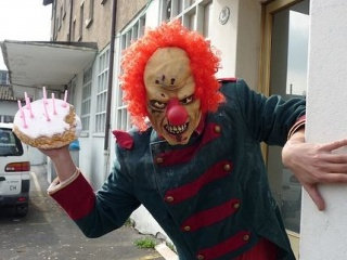 Agency offers evil clowns for kids birthday parties