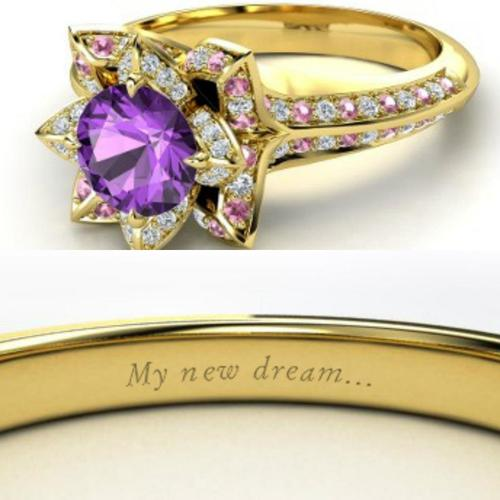 repunzel ringjpg - Disney Wedding Rings