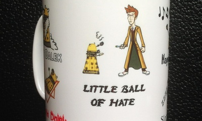 What's Hot: New Doctor Who/ Soft Kitty Mash-Up Mug is a Little Ball of Awesome