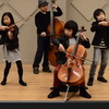 Adorably Tiny Joyous String Quartet Performs Smooth Criminal and Firework