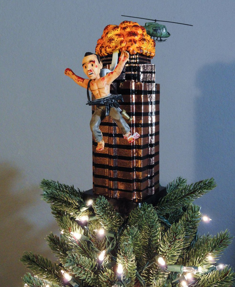 The 'Die Hard' Christmas Tree Topper Is The Ultimate X-Mas ...