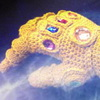 The Crocheted Infinity Gauntlet - Conquer The World In Cozy Comfort