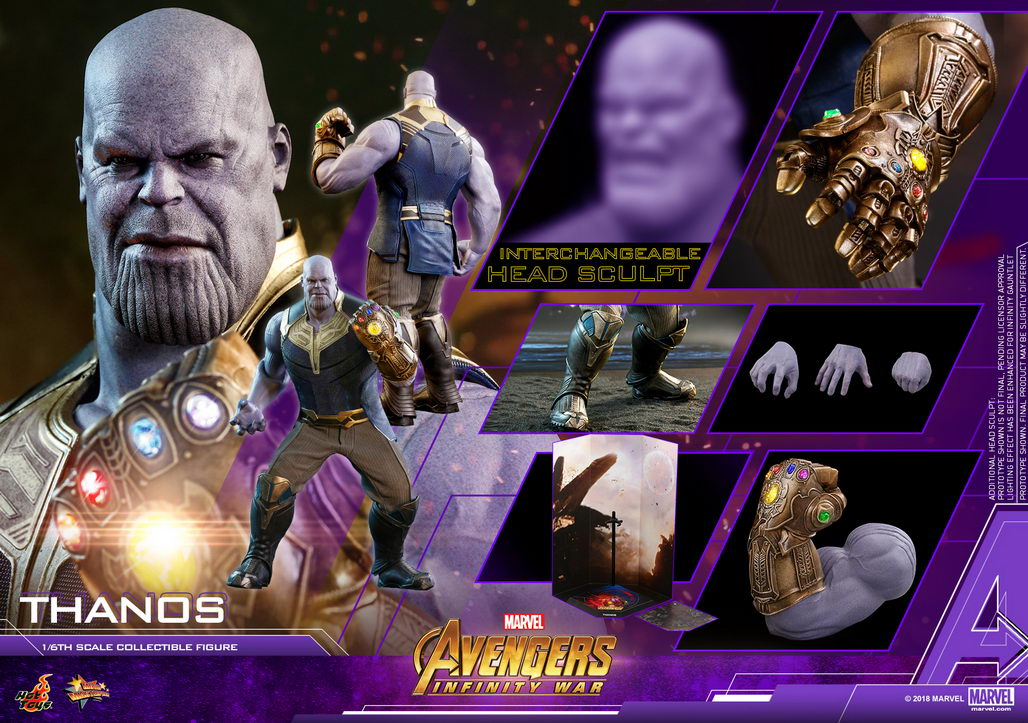 Hot Toys MMS479 Avengers: Infinity War 1/6th scale Thanos