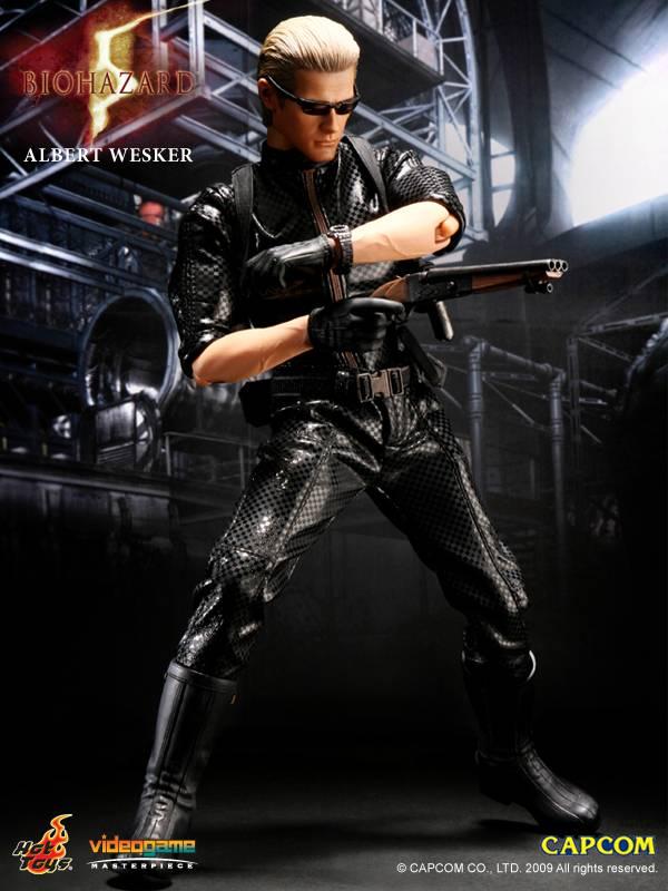 Bio Hazard 5 12 Albert Wesker Collectible Figure
