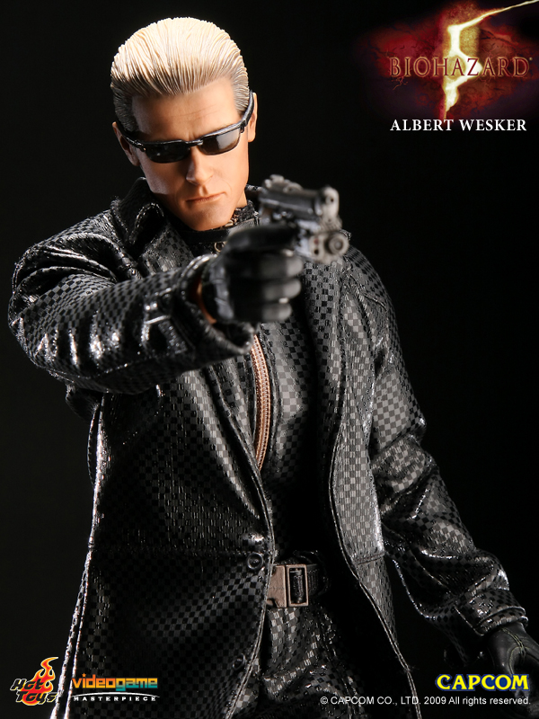 Hot Toys Albert Wesker 102