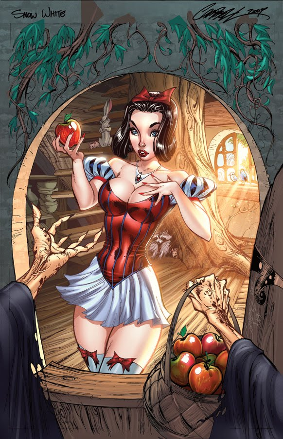 Find More in: disney, disney princesses, hot princesses, J. Scott Campbell,