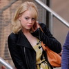 New Set Photos of Emma Stone As Gwen Stacy