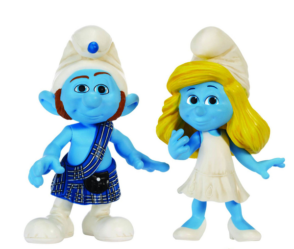 More Smurf® Collectibles Book 5 Smurf figures Mint Karate Hang glider tennis