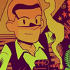 Dan Hipp's Science Fiction Films Reimagined as Tintin Books